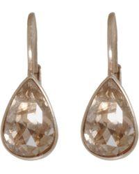 Anaconda | Metallic Brown Diamond White Gold Gwyneth Earrings | Lyst
