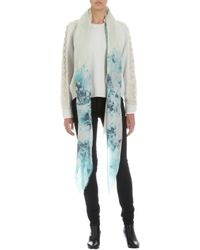 Athena Procopiou - Blue The Ice Queens Flowers Scarf - Lyst