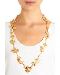 Aurelie Bidermann - Metallic Gold Tangerine Long Necklace - Lyst