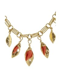 Aurelie Bidermann - Metallic Monteroso Gold-plated Necklace - Lyst