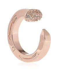 Giles & Brother | Pink Pave Railroad Spike Ring | Lyst