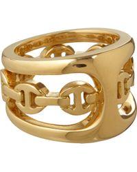 Hoorsenbuhs - Yellow Gold Phantom Clique Ring - Lyst