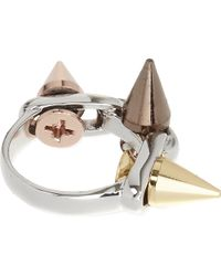 Joomi Lim - Multicolor Three Spike Ring - Lyst
