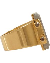 Maiyet - Metallic Labradorite Diamond Ring - Lyst