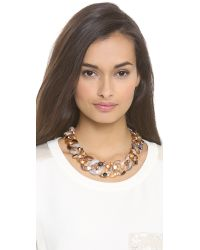 Marc By Marc Jacobs - Metallic Graduated Katie Necklace - Lyst