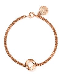 Marc By Marc Jacobs | Metallic Round & Round Hole Hearted Chain Bracelet | Lyst