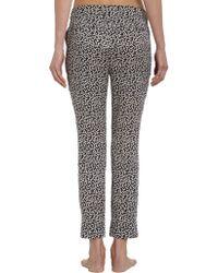 Piamita - Gray Amorsitos Print Brigitte Cropped Pajama Pant - Lyst
