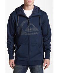 Quiksilver | Blue Nice Zip Hoodie for Men | Lyst