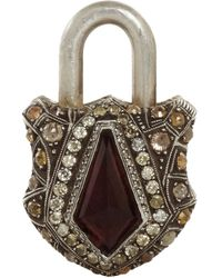 Sevan Biçakci | Metallic Tourmaline Diamond Large Padlock | Lyst