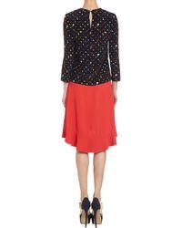 Giulietta - Red Flounce Hem Skirt - Lyst