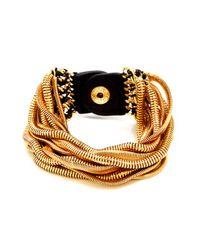 Henri Bendel - Metallic Lexington Ave Layer Bracelet - Lyst