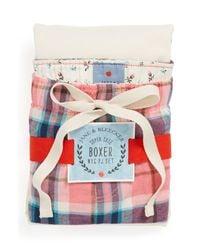 Jane & Bleecker New York   Pink Short Pajamas   Lyst