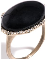 Monique Péan - Diamond Jade White Gold Ring - Lyst