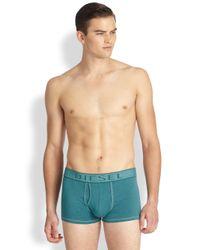 DIESEL - Blue Underdenim Trunks for Men - Lyst