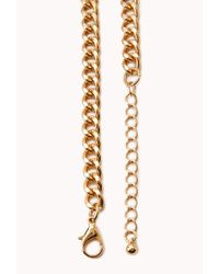 Forever 21 | Metallic Braided Collar Necklace | Lyst