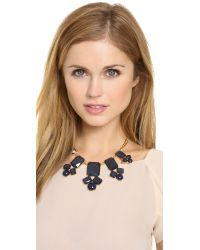 kate spade new york - Metallic Swirl Around Graduated Necklace - Lyst