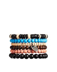 ASOS | Multicolor Beaded Bracelet Pack | Lyst