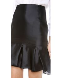Karla Špetic - Black Box Pleat Midi Skirt - Lyst