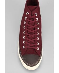 91f5dd29ffda0c Urban Outfitters. Brown Converse Chuck Taylor All Star Craft Mens Hightop  Sneaker