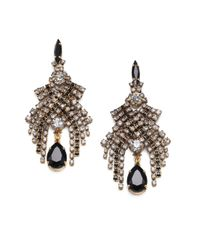 Aerin Erickson Beamon | Multicolor Swarovski Crystal Chandelier Earrings | Lyst