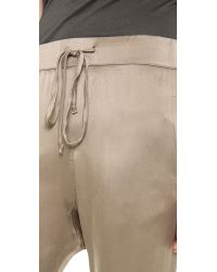 Enza Costa - Natural Silk Lounge Pants - Lyst