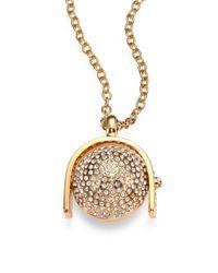 Kara Ross | Metallic Sphere Pendant Necklace | Lyst