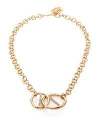 Kelly Wearstler - Metallic Regent Chain Link Pendant Necklace - Lyst