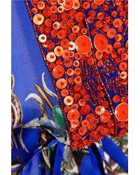 Roberto Cavalli | Multicolor Printed Silk Kaftan | Lyst