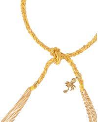 Carolina Bucci - Yellow Lucky Travel Bracelet - Lyst