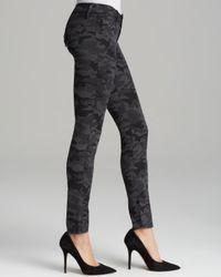 Hudson | Multicolor Jeans Collin Skinny in Vintage Grey Camo | Lyst