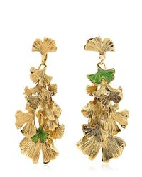 Aurelie Bidermann | Green Tangerine Earrings | Lyst