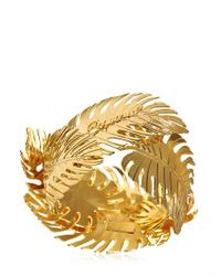 DSquared² - Metallic Leaves Bracelet - Lyst