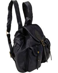 Jas MB - Black Bomber Mini Backpack - Lyst