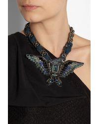 Lanvin - Black Necklace - Lyst