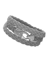 Stephen Webster - Gray Rayman Multi-wrap Men's Bracelet for Men - Lyst