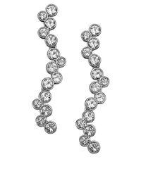 Swarovski - Metallic Fidelity Crystallized Pendant Earrings - Lyst