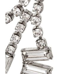 Tom Binns - Metallic Faux Real Silverplated Swarovski Crystal Earrings - Lyst