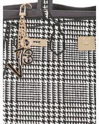 V73 - Black Tweed Canvas Tote - Lyst