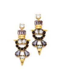 Lizzie Fortunato | Purple Till Dawn Earrings | Lyst