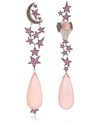 Lydia Courteille - Pink 13th Sign Collection Earrings - Lyst