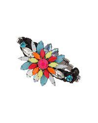 TOPSHOP - Multicolor Premium Floral Stone Bracelet - Lyst