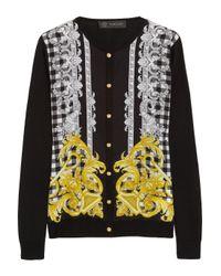 Versace   Yellow Sweater   Lyst