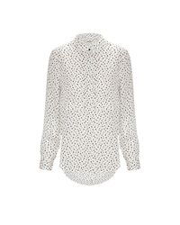 Whistles - Natural Square Spot Blouse - Lyst