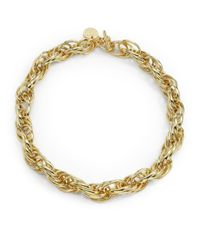 1ar | Metallic Rope Link Necklace | Lyst