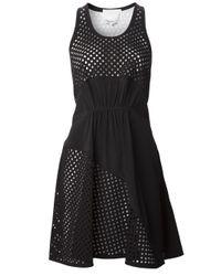 3.1 Phillip Lim | Black Laser Cut Dress | Lyst