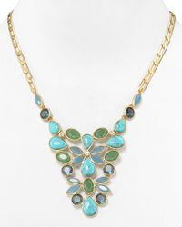 Carolee - Multicolor California Girls Small Bib Necklace 18 - Lyst