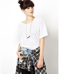 ASOS - Black Limited Edition Long Tube Necklace - Lyst