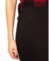 ASOS - Black Maxi Skirt - Lyst