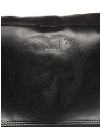 DIESEL Black Ralph Messenger Bag for men