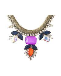 Loren Hope | Purple Carina Necklace Aurora | Lyst